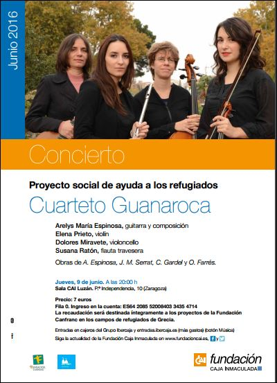 Concierto Solidario SOS Refugiados