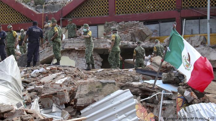 Ayuda a las familias afectadas por el terremoto en México