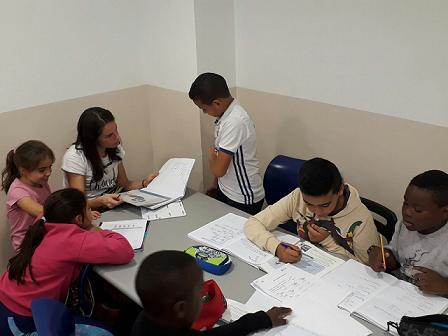 Apoyo escolar con la Fundación Canfranc