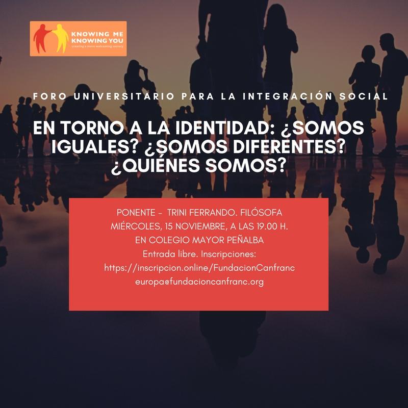 15noviembre Foro universitario para la intergacion social