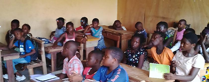 Ayuntamiento de Arnedo colabora con la Escuela Sainte Philomène de Abidjan