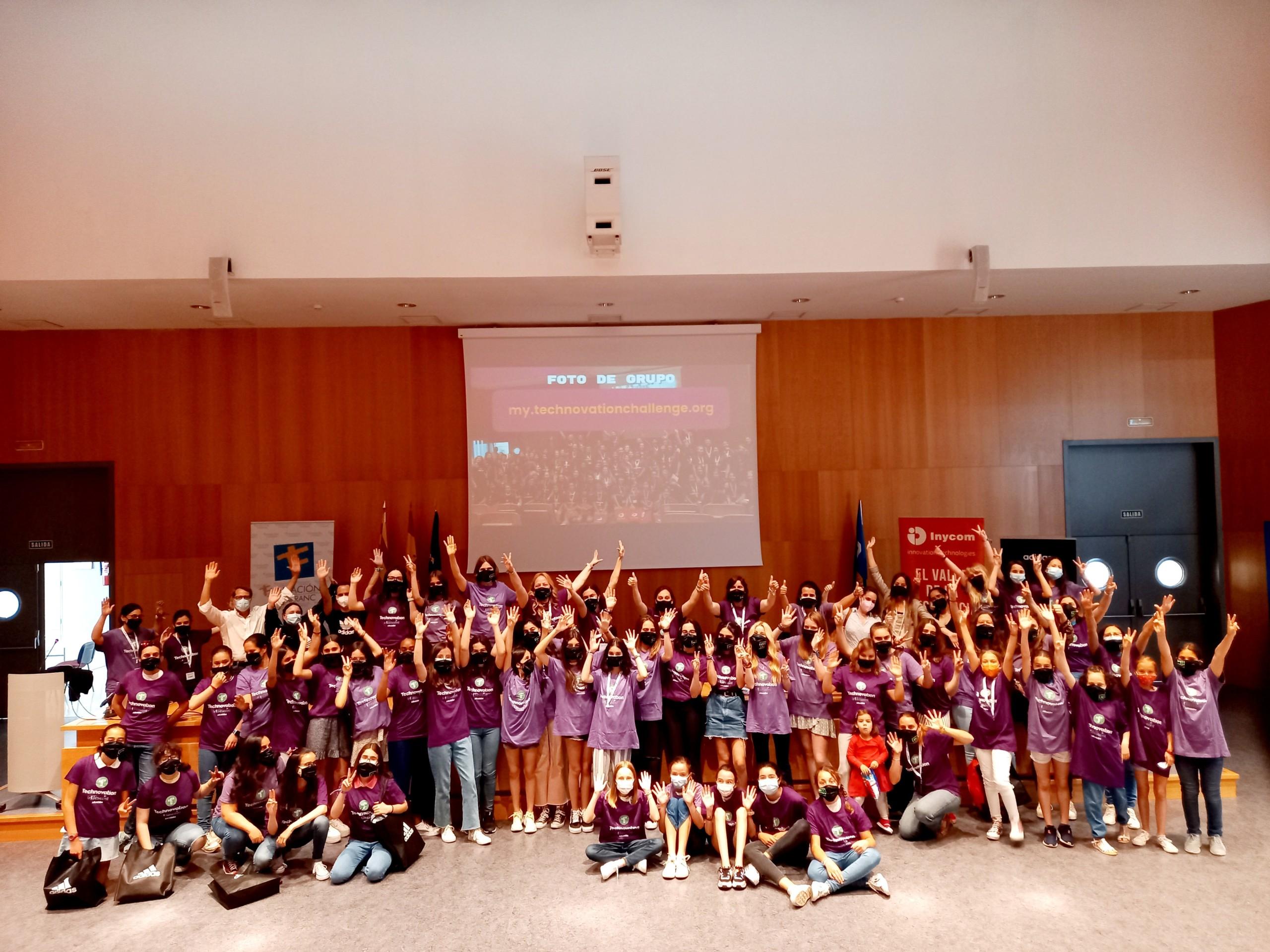 ¡Entrega de premios Technovation Girls Aragón!